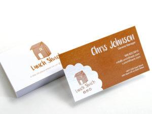 18PT C1S Business Cards