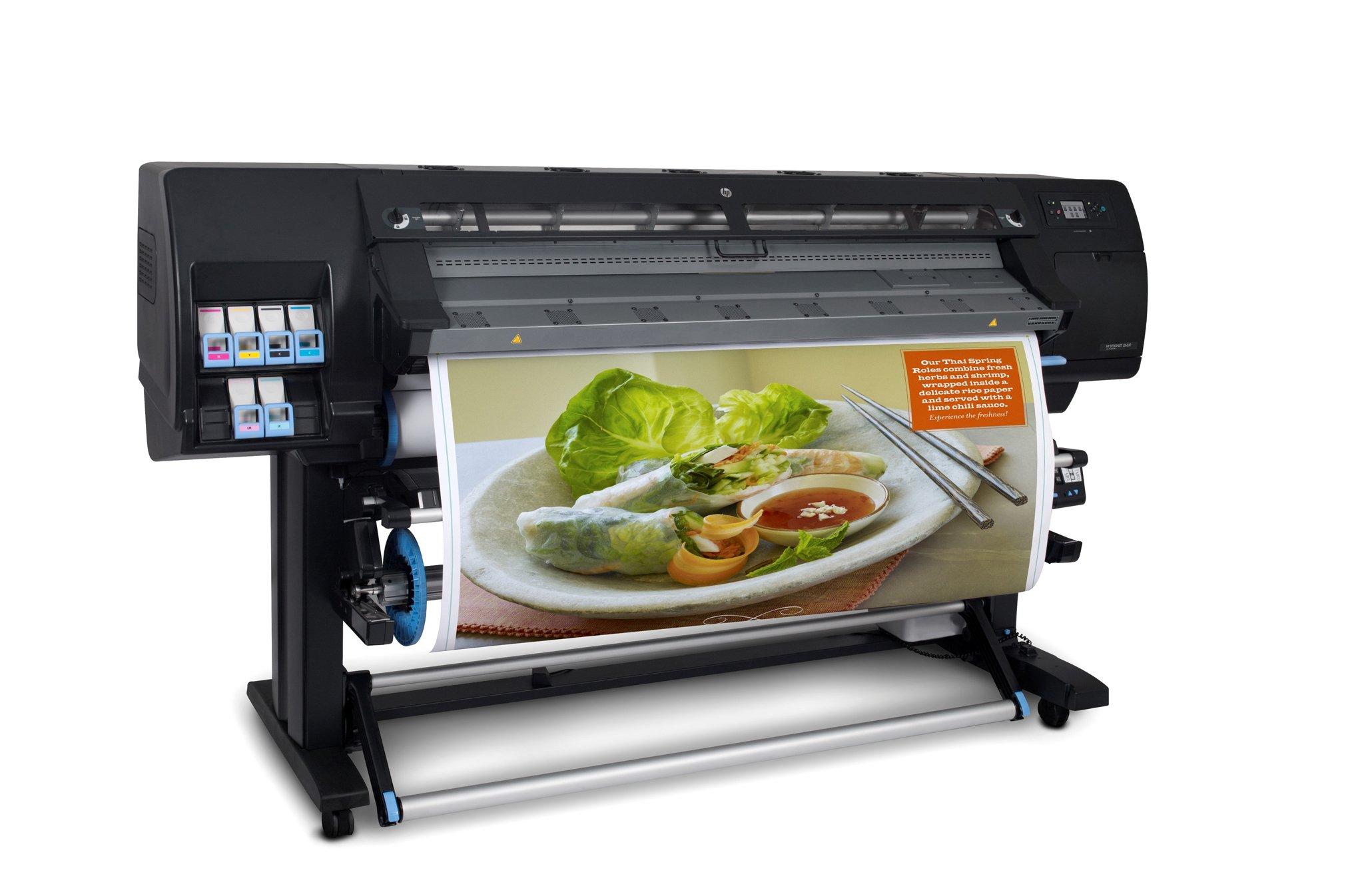 Large format banner printing
