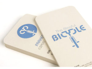 14pt Natural Uncoated Business Cards