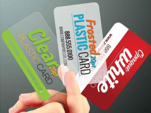20PT Plastic Business Cards with Round Corners